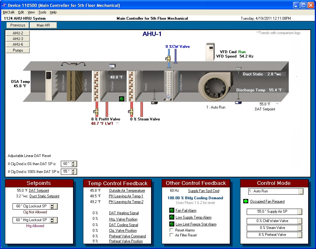 AHU-1 Vav System Schematic on pool system schematic, vav boxes wiring schematic, ahu system schematic, doorbell wiring schematic, single duct vav schematic,